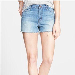 J Brand Jean cutoff shorts